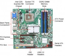 INTEL DQ35JOE LGA775 MOTHERBOARD