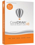 CorelDraw Home & Student Suite X8 Family Pack